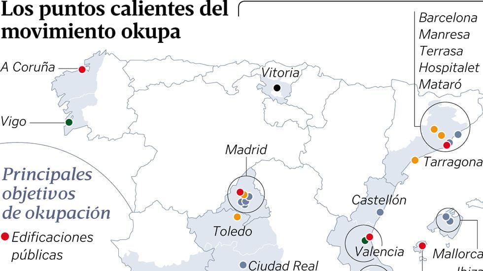 El fenómeno de la okupación en España