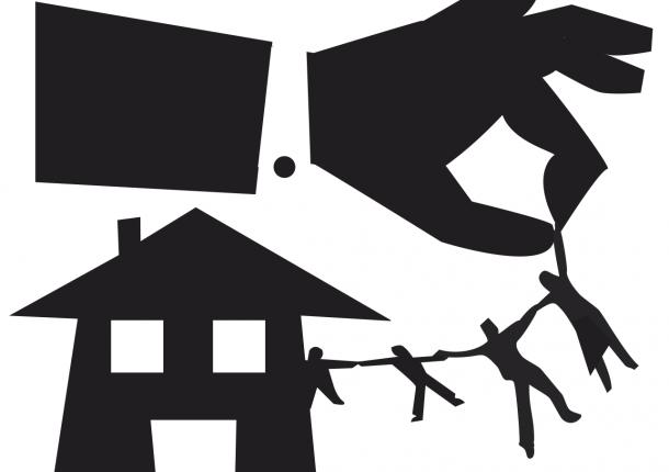 Impagos del alquiler ocasionaron 65% de los desahucios